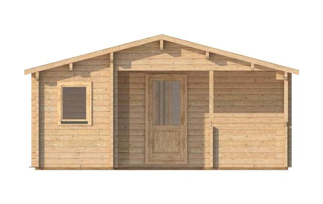 Almeria Small Front Affordable Cabins Ireland