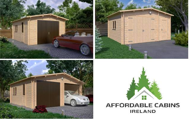 Garages Affordable Cabins Ireland