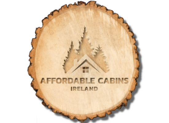 carved timber logo Affordable Cabins Ireland