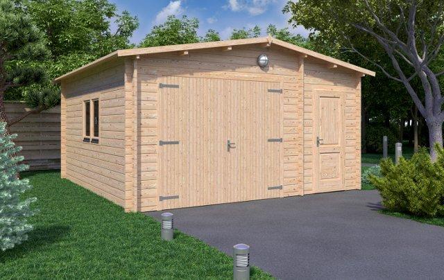 Garage-5x5 Affordable Cabins Ireland