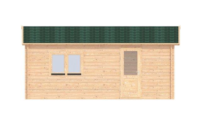Garage-6x6-left Affordable Cabins Ireland