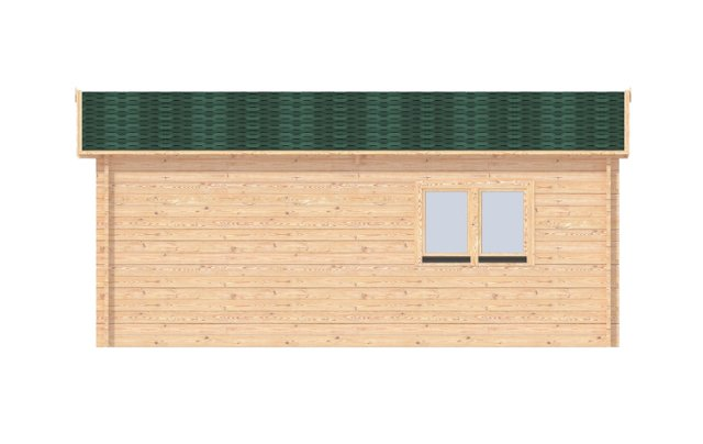 Garage-6x6-right Affordable Cabins Ireland
