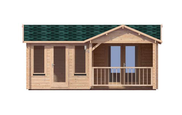 Suzy Front Affordable Cabins Ireland