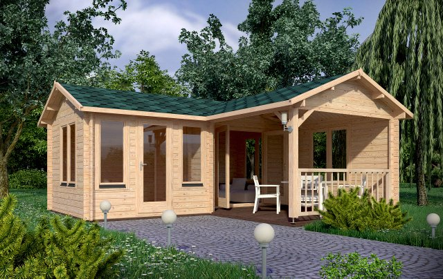 Suzy Render Affordable Cabins Ireland