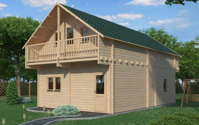 Verona Render Affordable Cabins Ireland
