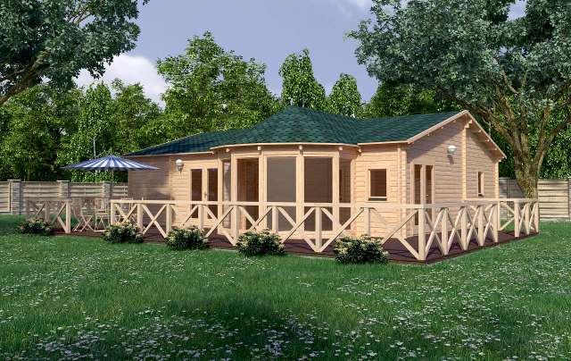 Vienna render Affordable Cabins Ireland