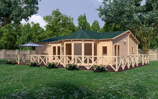 Vienna render Affordable Cabins Ireland