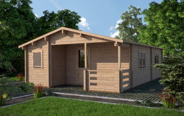 Almeria Perspective Affordable Cabins Ireland