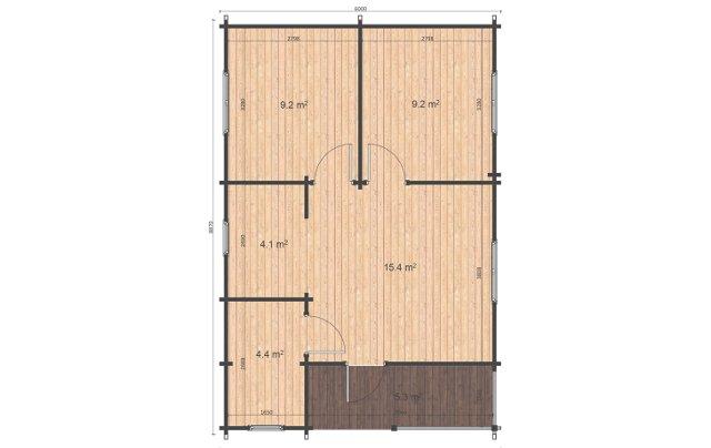 Almeria Plans Affordable Cabins Ireland