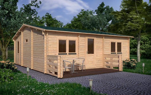 Small Residential Perspective Affordable Cabins Ireland